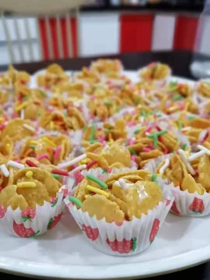 Resepi cornflakes madu tanpa oven